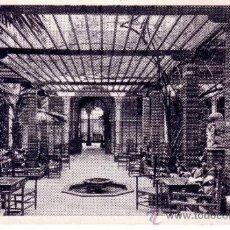 Postales: POSTAL DEL HOTEL MADRID DE SEVILLA - PATIO DE INVIERNO - EDITA IMPRENTA ALEMANA . Lote 32021391
