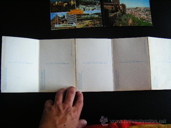 Postales: lote 2 postales y desplegable granada. alhambra y ciudad. Desplegable serie 36 kolor zerkowitz. - Foto 6 - 32027812