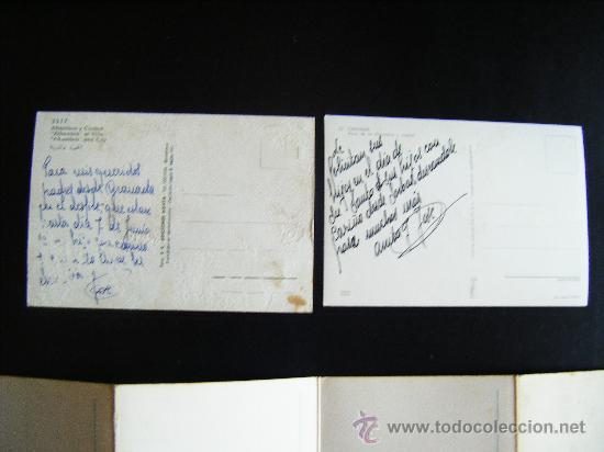 Postales: lote 2 postales y desplegable granada. alhambra y ciudad. Desplegable serie 36 kolor zerkowitz. - Foto 7 - 32027812