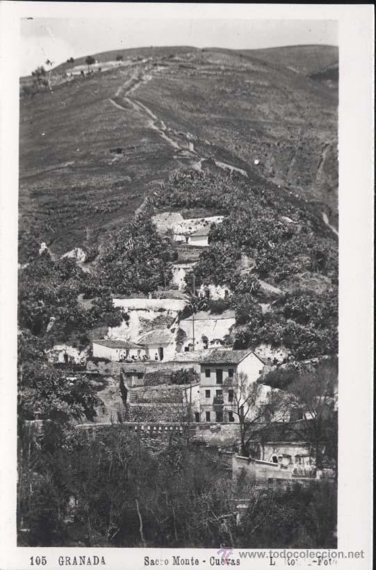 GRANADA.-SACRO MONTE-CUEVAS (Postales - España - Andalucia Moderna (desde 1.940))