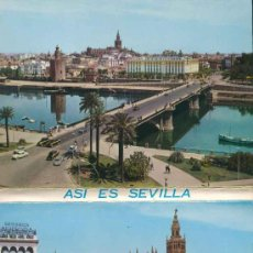 Postales: POSTAL - TIRA-ALBUM-LIBRILLO ACORDEON 10 POSTALES ASI ES SEVILLA. Lote 32189960
