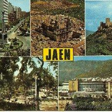 Postales: JAÉN - DIVERSOS ASPECTOS - ED. SUBIRATS CASANOVAS - SIN CIRCULAR. Lote 32330795