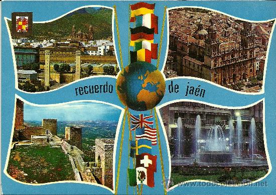 JAÉN - DIVERSOS ASPECTOS - ED. SUBIRATS CASANOVAS - SIN CIRCULAR (Postales - España - Andalucia Moderna (desde 1.940))