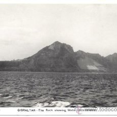 Postales: PS2019 GIBRALTAR 'THE ROCK SHOWING WATER CATCHMENTS'. POSTAL FOTOGRÁFICA. SACARELLO. SIN CIRCULAR. Lote 32405269