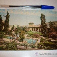 Postales: POSTAL GRANADA ALHAMBRA JARDINES DEL PARTAL. Lote 32479420