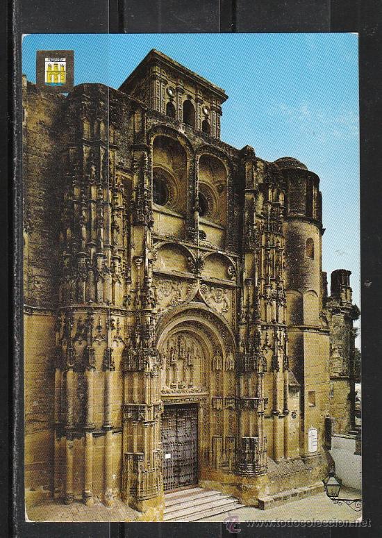 Nº 14 ARCOS DE LA FRONTERA. FACHADA PRINCIPAL DE LA IGLESIA PARROQUIAL DE SANTA MARIA (Postales - España - Andalucia Moderna (desde 1.940))