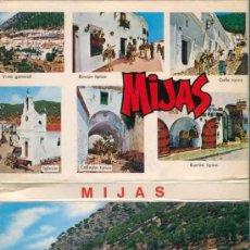 Postales: POSTAL - TIRA - ALBUM - LIBRILLO ACORDEON 12 POSTALES DE MIJAS - MALAGA. Lote 32506234