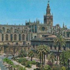 Postales: POSTAL - ARCHIVO DE INDIAS Y CATEDRAL DE SEVILLA - GARCIA GARRABELLA Y CIA. - 1. Lote 32516262