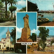 Postales: HUELVA - TARJETA POSTAL - SERIE II - NÚM. 50.080 - FOTO: CAMPAÑÁ Y PUIG-FERRAN - SIN CIRCULAR. Lote 32521129