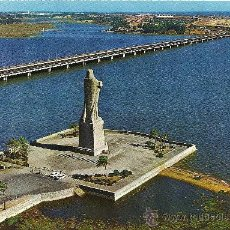Postales: HUELVA - MONUMENTO A COLÓN. VISTA AÉREA - ED. FISA - SUBIRATS CASANOVAS - SIN CIRCULAR. Lote 32521316