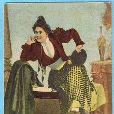 Postales: Nº 575. SEVILLA. TIPO SEVILLANO. CIRCULADA EN 1903.. Lote 32756398