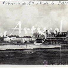 Postales: BONITA POSTAL - CADIZ - BALNEARIO DE NTRA. SRA. DE LA PALMA Y GRAN HOTEL ATLANTICO . Lote 33111051