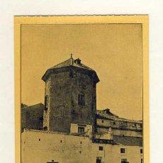 Postales: POSTAL DE LUCENA: CASTILLO DEL MORAL, QUE FUE PRISION DEL REY CHICO DE GRANADA (IMP. TENLLADO). Lote 32826859