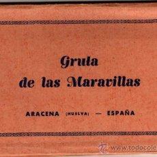 Postales: POSTAL ARACENA (HUELVA) - GRUTA DE LAS MARAVILLAS - ALCORDEON CON 8 POSTALES - EDITA EXCMO. AYTO.. Lote 32927734