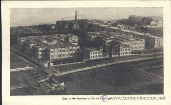 MÁLAGA.- CENTRO DE FERMENTACION (Postales - España - Andalucía Antigua (hasta 1939))
