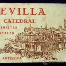 Postales: SEVILLA CATEDRAL. 20 TARJETAS POSTALES. MANUEL BARREIRO. . Lote 32991856