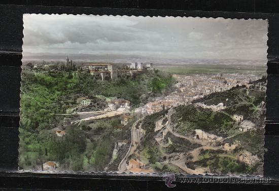 GRANADA. 24.- VISTA PARCIAL DSDE EL SACRO MONTE (Postales - España - Andalucia Moderna (desde 1.940))