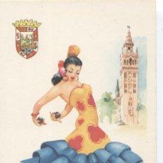 Postales: SEVILLA. Nº 3. EDITOR VICENTE MARTÍNEZ. FOURNIER, VITORIA. SIN CIRCULAR. Lote 33265304