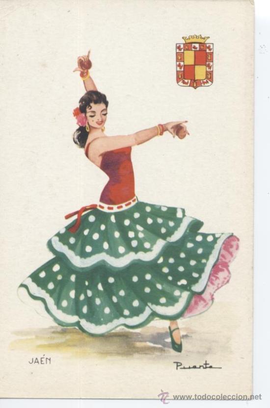 JAÉN. Nº 6. EDITOR VICENTE MARTÍNEZ. FOURNIER, VITORIA. SIN CIRCULAR. (Postales - España - Andalucia Moderna (desde 1.940))