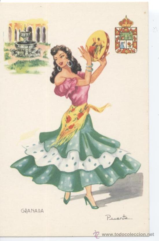 GRANADA. Nº 9. EDITOR VICENTE MARTÍNEZ. FOURNIER, VITORIA. SIN CIRCULAR (Postales - España - Andalucia Moderna (desde 1.940))