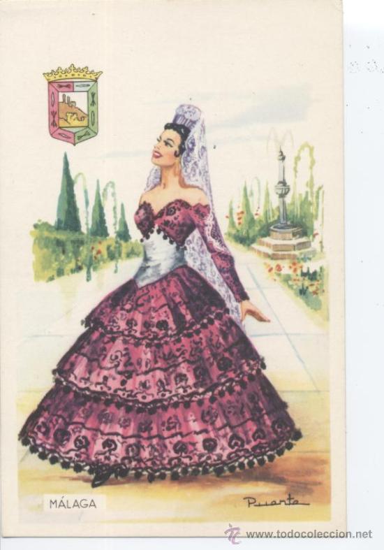 MÁLAGA. Nº 11. EDITOR VICENTE MARTÍNEZ. FOURNIER, VITORIA. SIN CIRCULAR. (Postales - España - Andalucia Moderna (desde 1.940))