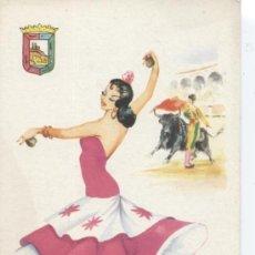 Postales: MÁLAGA. Nº 18. EDITOR VICENTE MARTÍNEZ. FOURNIER, VITORIA. SIN CIRCULAR.. Lote 33265636