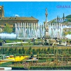 Postales: 7-ESP1723. POSTAL GRANADA. FUENTE MONUMENTAL DEL TRIUNFO. Lote 33321523