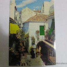 Postales: MARBELLA CALLE TÍPICA (MÁLAGA) CIRCULADA T929. Lote 33393359