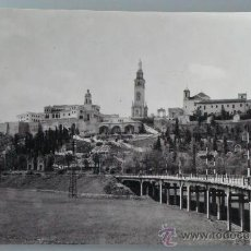Postales: POSTAL DE SAN JUAN DE AZNALFARACHE, SEVILLA. AÑOS 30 50. CERRO SAGRADOS CORAZONES. 1167. . Lote 33407230