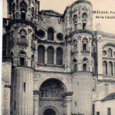 Postales: MÁLAGA PORTADA DE LA CATEDRAL FOTOTIPIA DE HAUSER Y MENET SIN CIRCULAR . Lote 33492006
