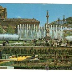 Postales: GRANADA - FUENTE MONUMENTAL DEL TRIUNFO - EDICIÓN ARRIBAS - POSTAL. Lote 33740943