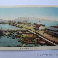Postales: ALGECIRAS LES MUELLOS, LOS MUELLES 6. Lote 33638637