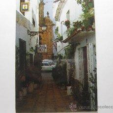 Postales: MARBELLA (MÁLAGA), CALLE TÍPICA - CIRCULADA T1566. Lote 34034434