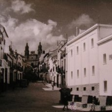 Postales: POSTAL FOTOGRAFICA OLVERA FOT. CUBILES CALLE DEL GENERAL FRANCO. Lote 34105563
