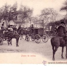 Postales: SEVILLA - PASEO DE COCHES - SIN CIRCULAR. Lote 34111346