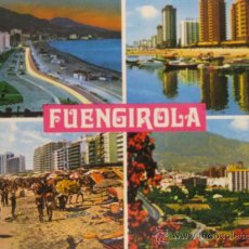 Postales: COSTA DEL SOL,FUENGIROLA,, CIRCULADA T1898. Lote 34208878