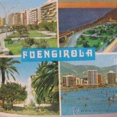 Postales: COSTA DEL SOL,FUENGIROLA,VISTAS, CIRCULADA T1900. Lote 34208881