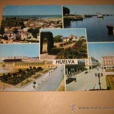 Postales: 2.020 HUELVA VISTAS EDICIONES ARRIBAS. Lote 34223624