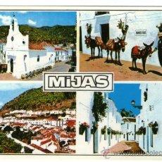 Postales: MIJAS MALAGA - COSTA DEL SOL - EDICIÓN BEASCOA - POSTAL. Lote 34243685