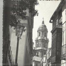 Postales: MALAGA CALLE DE SAN AGUSTIN ESCRITA. Lote 34262420