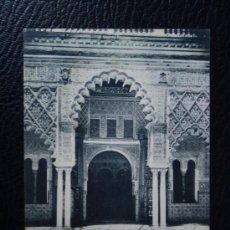 Postales: POSTAL SEVILLA, ALCAZAR SALÓN MARIA DE PADILLA - CIRCULADA AÑO 1902 REVERSO SIN DIVIDIR. Lote 34325192