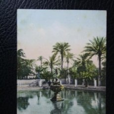 Postales: POSTAL SEVILLA JARDINES DEL ALCAZAR - CIRCULADA AÑO 1902 - REVERSO SIN DIVIDIR. Lote 34325404