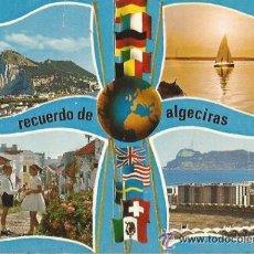 Postales: +-+ PV1393 - POSTAL - RECUERDO DE ALGECIRAS - ESCRITA. Lote 34351572