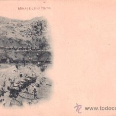 Postales: POSTAL DE MINAS DE RÍO TINTO (HUELVA). HAUSER Y MENET, N.º 159. Lote 34440553