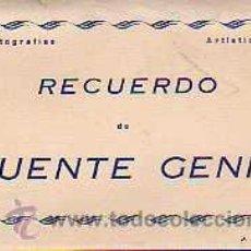 Postales: PUENTE GENIL.- ACORDEÓN DE 10 POSTALES.- ED. ARRIBAS.. Lote 34450175