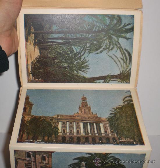 Postales: ANTIGUO LIBRO DE POSTALES DE CADIZ (CONTIENE 6 POSTALES) - Foto 2 - 34474154
