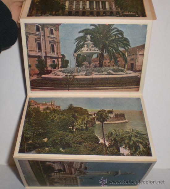 Postales: ANTIGUO LIBRO DE POSTALES DE CADIZ (CONTIENE 6 POSTALES) - Foto 3 - 34474154