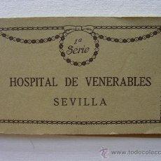 Postales: (BL-22) BLOC, LIBRILLO 15 POSTALES. HOSPITAL DE VENERABLES. SEVILLA.. Lote 34486966