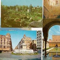 Postales: GRANADA - LOTE DE POSTALES ANTIGUAS - ALMUÑECAR. Lote 34579327