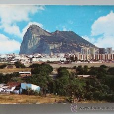 Postales: POSTAL DE LA LÍNEA DE LA CONCEPCIÓN, CÁDIZ. AÑO 1970. VISTA PARCIAL Y GIBRALTAR 113. . Lote 34636791